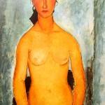 Amedeo Modigliani -γυμνο
